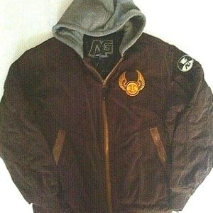 ANALOG x BURTON Snowboard Snow Hooded Jacket M